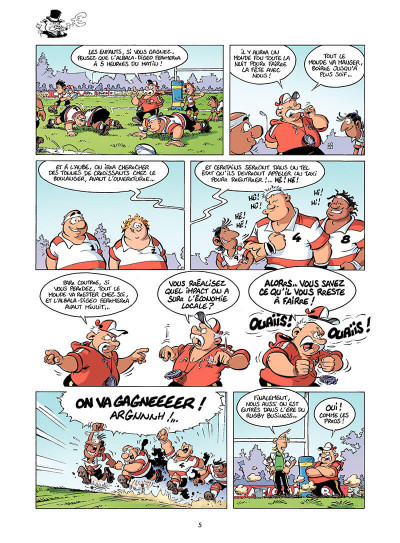 Page 6 Les rugbymen tome 16
