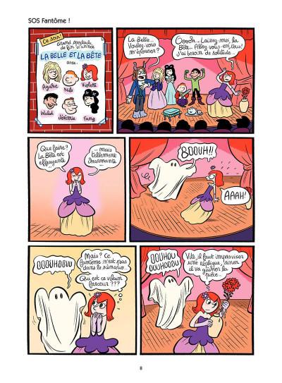 Page 9 Les enquêtes de Violette tome 3