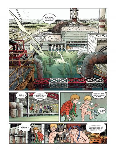 Page 0 Les chiens de Pripyat tome 2