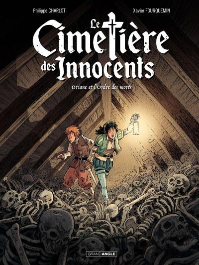 Couverture Le cimetière des innocents tome 1