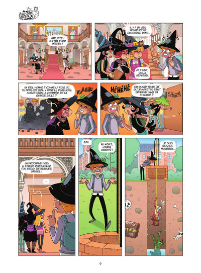 Page 0 Miss Pipelette tome 1