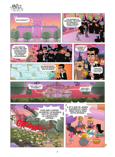 Page 7 Miss Pipelette tome 1