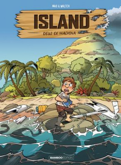 Couverture Island tome 1