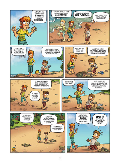 Page 0 Island tome 1