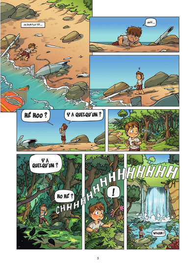 Page 6 Island tome 1