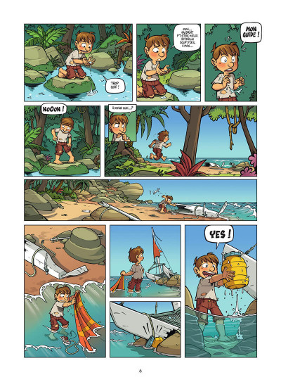 Page 7 Island tome 1