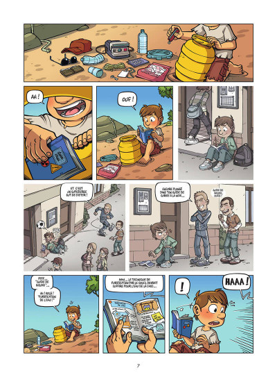 Page 8 Island tome 1