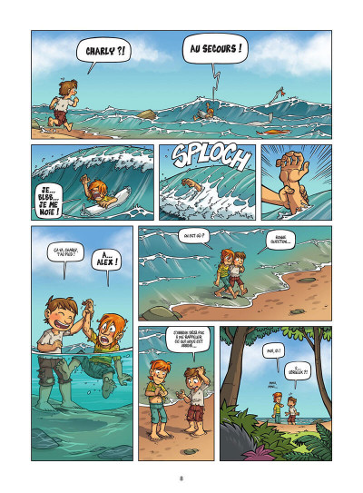 Page 9 Island tome 1