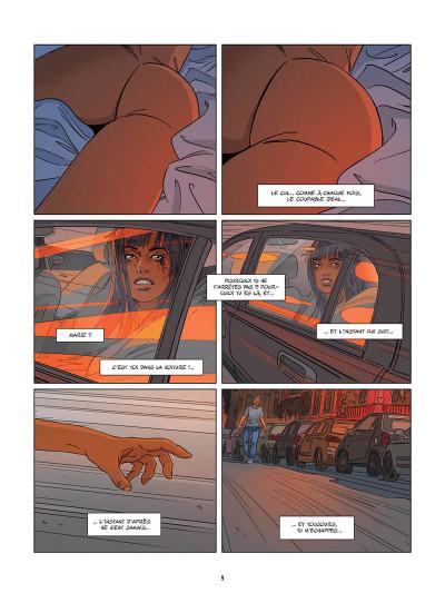 Page 0 Une nuit à Rome tome 3