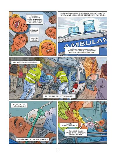 Page 8 Une nuit à Rome tome 3