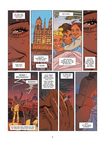 Page 9 Une nuit à Rome tome 3