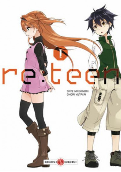 Couverture Re:teen tome 1