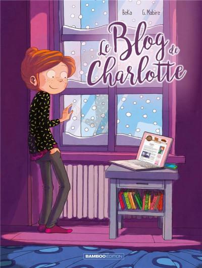Couverture Le blog de Charlotte