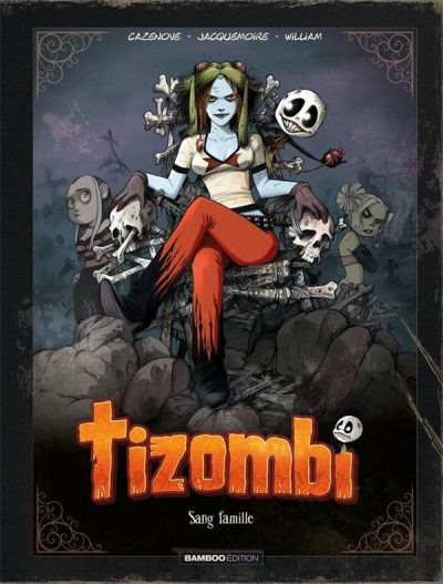 Couverture Tizombi - édition luxe tome 2