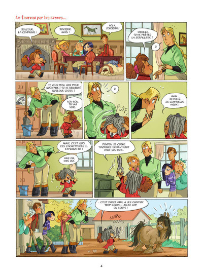 Page 5 Camomille et les chevaux tome 6