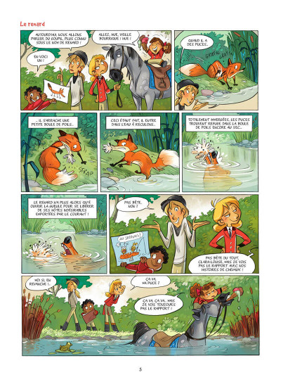 Page 6 Camomille et les chevaux tome 6