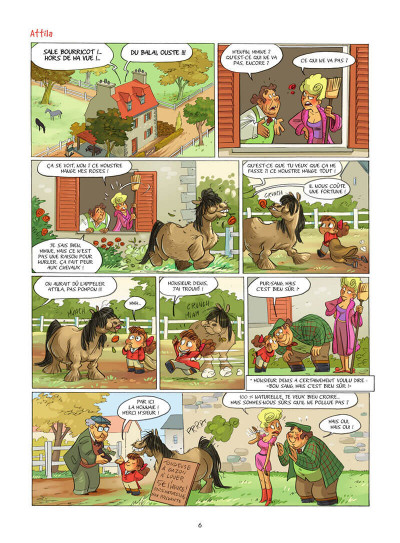 Page 7 Camomille et les chevaux tome 6
