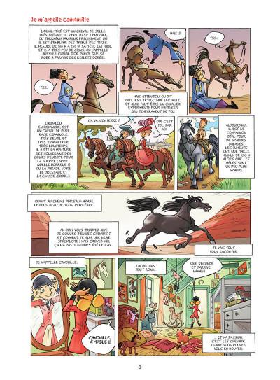 Page 4 Camomille et les chevaux tome 1 (prix découverte)