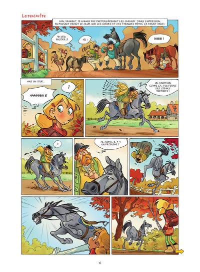 Page 7 Camomille et les chevaux tome 1 (prix découverte)