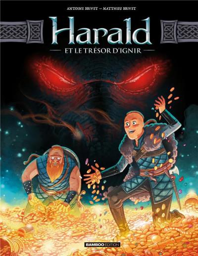 Couverture Harald et le trésor d'Ignir tome 1