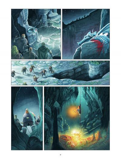 Page 0 Harald et le trésor d'Ignir tome 1