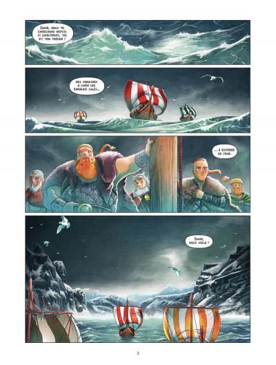 Page 4 Harald et le trésor d'Ignir tome 1