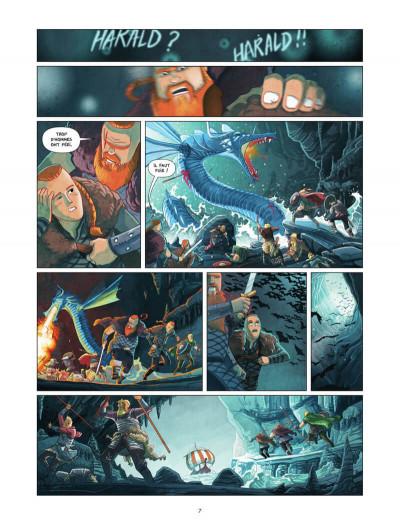 Page 8 Harald et le trésor d'Ignir tome 1