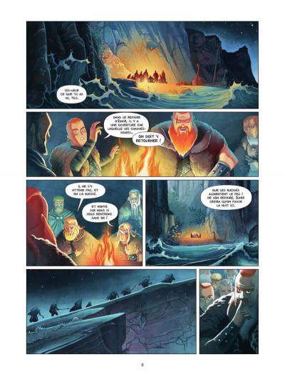 Page 9 Harald et le trésor d'Ignir tome 1