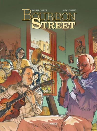 Couverture Bourbon Street - intégrale tomes 1 + 2