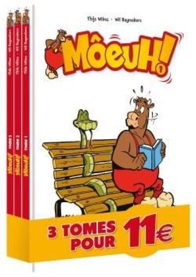 Couverture Môeuh ! pack tomes 1 à 3