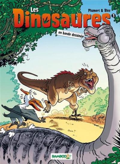Couverture Les dinosaures en BD tome 3