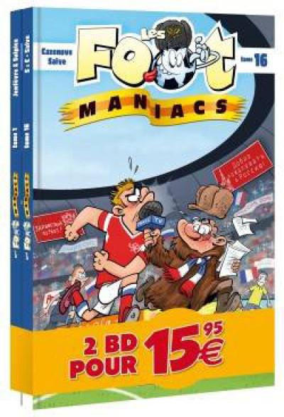 Couverture Les foot maniacs - pack découverte tome 1 + tome 16
