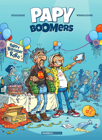 Couverture Papy boomers