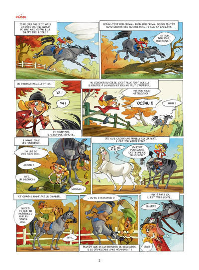 Page 4 Camomille et les chevaux tome 2