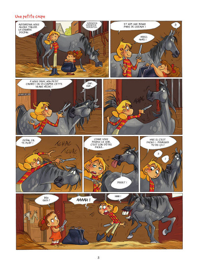 Page 6 Camomille et les chevaux tome 2