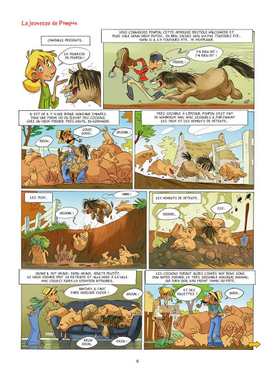 Page 7 Camomille et les chevaux tome 2