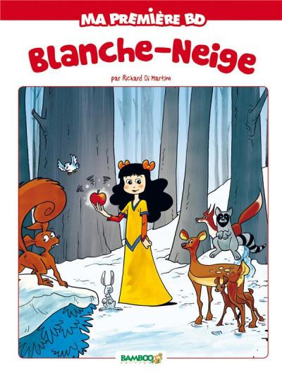 Couverture Blanche neige - nouvelle edition