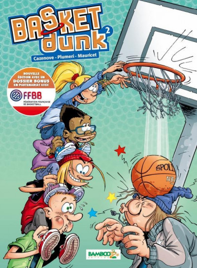 Couverture Basket dunk tome 2