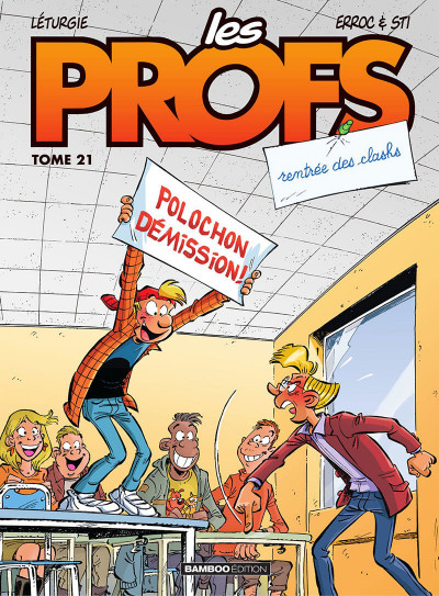 Couverture Les profs tome 21