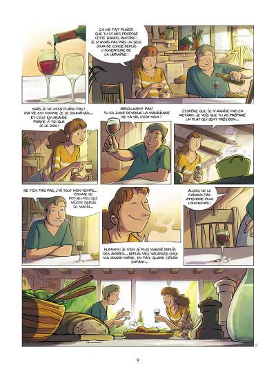 Page 0 Le jour où elle n'a pas fait compostelle