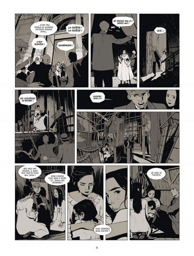 Page 9 Les soeurs Fox tome 2