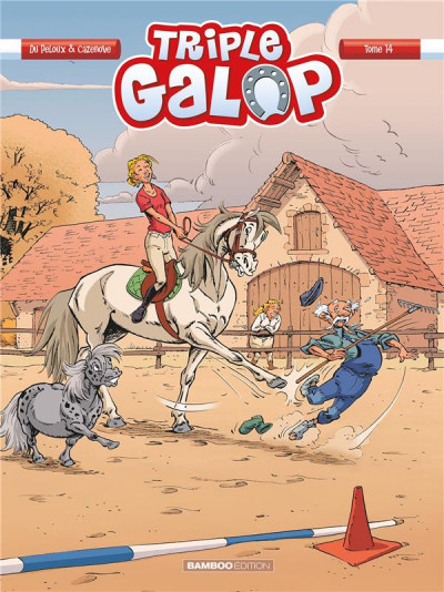 Couverture Triple galop tome 14