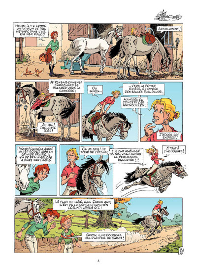Page 6 Triple galop tome 14