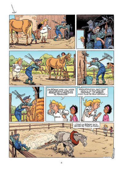 Page 7 Triple galop tome 14