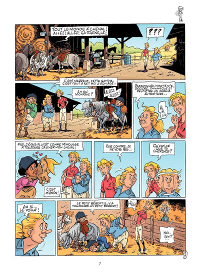 Page 8 Triple galop tome 14