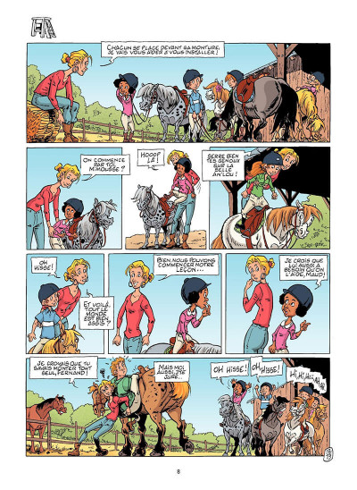 Page 9 Triple galop tome 14