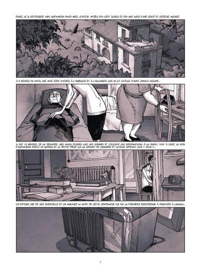 Page 8 Une vie avec Alexandra David-Néel tome 3