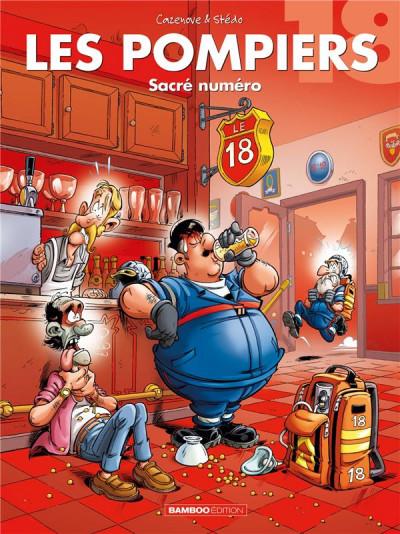 Couverture Les pompiers tome 18