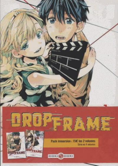 Couverture Drop frame - pack immersion tomes 1 et 2