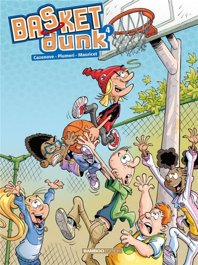 Couverture Basket dunk tome 4